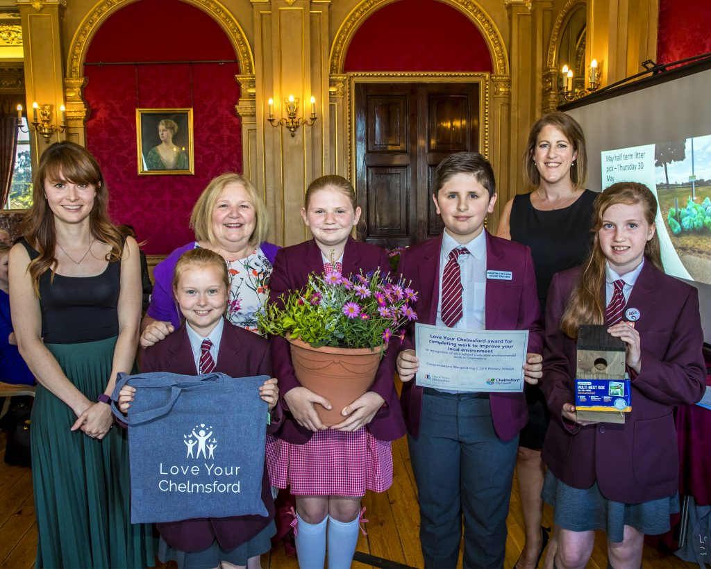 Margaretting Primary – Love your Chelmsford Award for completing work to improve the local community